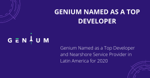 Software Engineering, Mobile Apps Development, Genium, Nearshore, Premium Software Provider